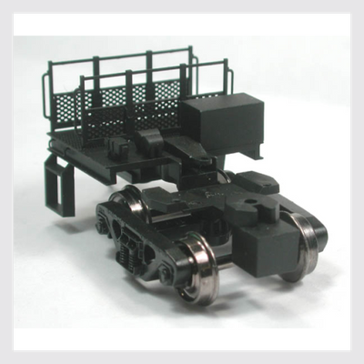 Bowser: 40300 Coupler Mate with deck details and steps installed.