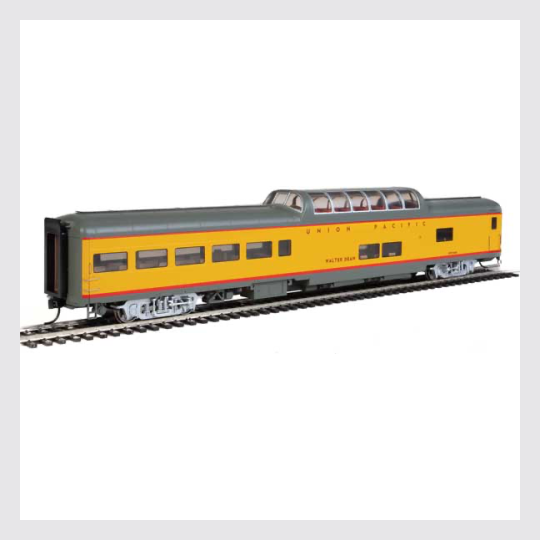 Walthers HO 920-18205 85' ACF Dome Lounge Car, Union Pacific