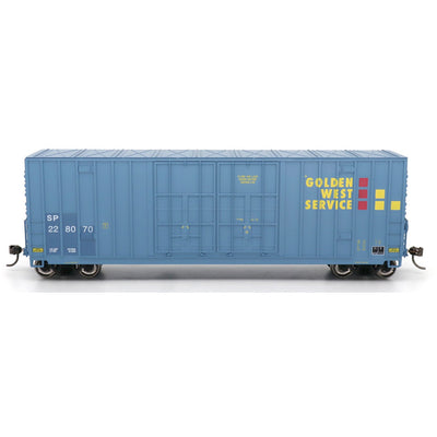 Value Line. by InterMountain 4133010-03, Gunderson 50' High Cube Double Door Boxcars, Golden West Service -SP #227874