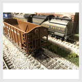 Bowser HO 42274 55-Ton Fishbelly Hopper, Norfolk Southern (Peaked End) #9041