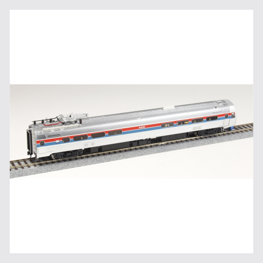Walthers Proto HO 920-14802 Budd Metroliner Electric Multiple Unit (EMU) Snack Bar Coach, Amtrak (Phase II Equipped with Tsunami Sound and DCC)