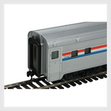 Walthers Mainline HO 910-30201 85' Budd Dome Coach, Amtrak (Phase 3)