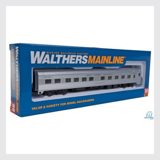 4318380720186 - Walthers Mainline 910-30105, 85' Budd 10-6 Sleeper - New York Central - Rj's Trains