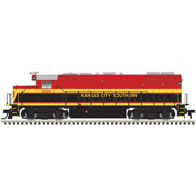 Atlas, Trainman, HO Scale, 10003596, GP38-2, KCS, #2034, DCC Ready