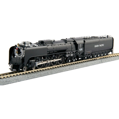 "Kato, N Scale, 126-0402, FEF-3 Steam Locomotive, Union Pacific ""Freight Version"", #838, DCC Ready"