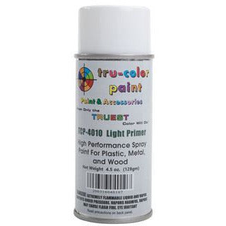 Tru-Color Paint, TCP-4010, Spray Paint, Light Primer, 4.5 oz
