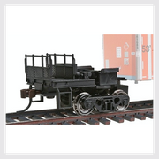 4375677599802 - Bowser: 40300 Coupler Mate With Deck Details And Steps Installed. - Rj's Trains