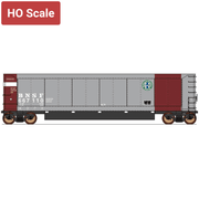Value Line. by InterMountain 4403003-A01, AeroFlo Coal Gondolas, BNSF 667750