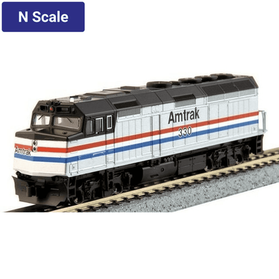 Kato, N Scale, 176-6105-DCC, EMD F40PH,  Amtrak Phase III, #330, DCC Installed