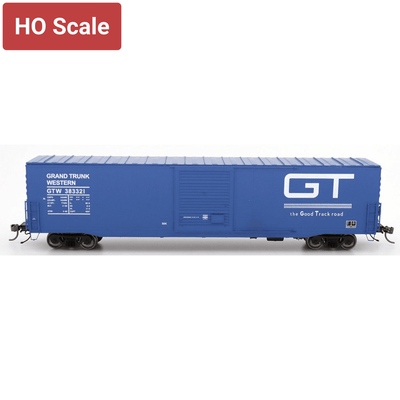 Intermountain HO 46906-01, PS-1 SD Boxcar, Grand Trunk Western - Blue 383321