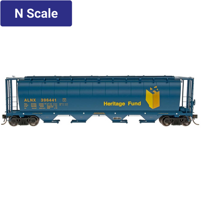 Intermountain, 65103, N Scale, Cylindrical Covered Hopper, Alberta Heritage - ALNX