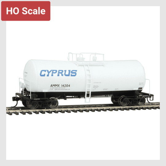 1436561637399 - Walthers Proto 920-100129 40' Utlx 16,000 Gallon Funnel-Flow Tank Car, Cyprus (Ammx) #14204 - Rj's Trains