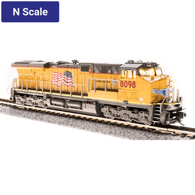 Broadway Limited,  N Scale, 3902, GE ES44AC, Union Pacific, Building America, #8098 (DCC & Sound)