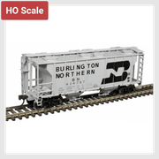 4321968586810 - Atlas Trainman Ho 20005056 Ps-2 Covered Hopper, Burlington Northern #424793 - Rj's Trains