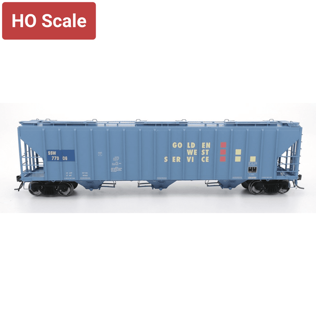 Intermountain HO 472292-04 4785 PS2-CD Covered Hopper, Golden West-KCS #77936