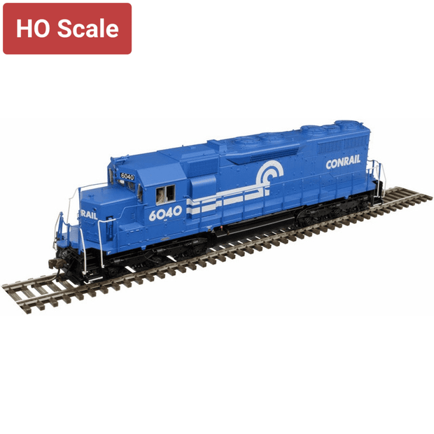 Atlas Master Line HO 10002752 Silver Series EMD SD35 with Low Nose, Conrail #6040