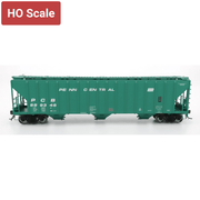 Intermountain HO 472205-06 4785 Covered Hopper, PC Green Repaint #886998