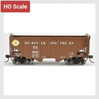 4170321068055 - Bowser Ho 42273 55-Ton Fishbelly Hopper, Norfolk Southern (Peaked End) #9038 - Rj's Trains
