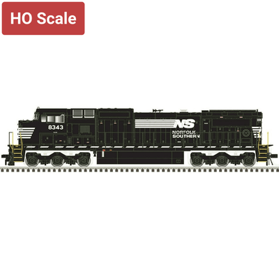 Atlas HO Scale 10003121 Silver Series DASH 8-40CW Norfolk Southern #8343