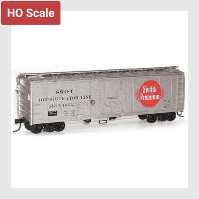 274384814103 - Accurail 8512 Swift Refrigerator Line 40' Steel Reefer #1072 (Ho Scale Kit) - Rj's Trains
