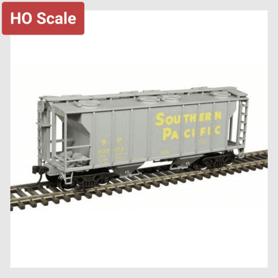 4356870799418 - Atlas Trainman Ho 20005052 Ps-2 Covered Hopper, Southern Pacific #402245 - Rj's Trains