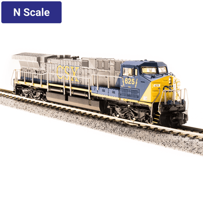 Broadway Limited,  N Scale, 3744, GE AC6000, CSX (YN2), #634 (DCC & Sound)