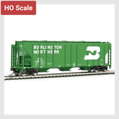 1436616622103 - Walthers Mainline Ho 910-7269 54' Ps2-Cd 4427 Low-Side Covered Hopper, Burlington Northern #439217 - Rj's Trains