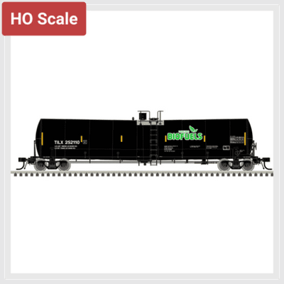 4388975607866 - Atlas Master Line Ho 20005230 Trinity 25,500 Gallon Tank Car, Lake Erie Biofuels (Tilx) #252105 - Rj's Trains