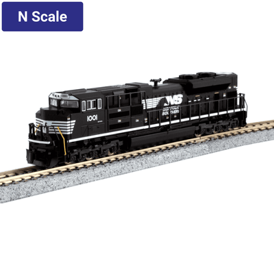 Kato, N Scale, 176-8513, EMD SD70ACe, Cab Headlight Version, Norfolk Southern, #1001, DCC Ready