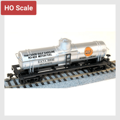 3958159900695 - Mantua Classics Ho 732593 40' Single Dome Tank Car, Gulf #15597 - Rj's Trains