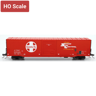 Intermountain HO 46915-18, PS-1 SD Boxcar, Santa Fe - Super Shock  #609044