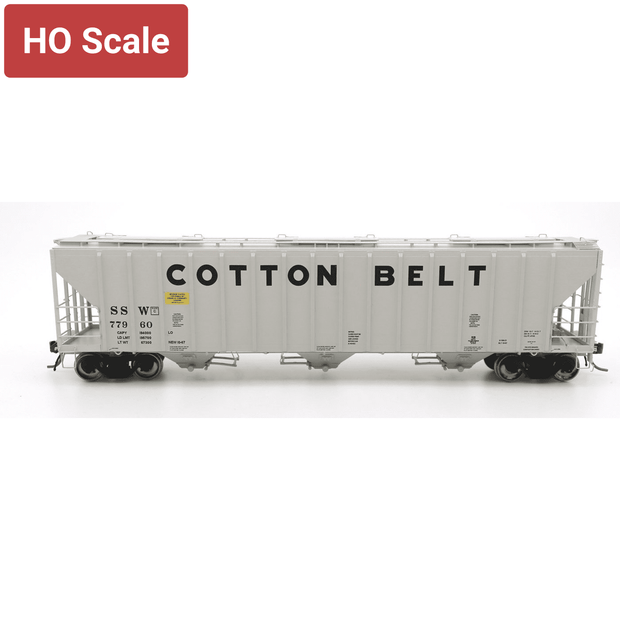 Intermountain HO 472290-04 4785 PS2-CD Covered Hopper, Cotton Belt #77960
