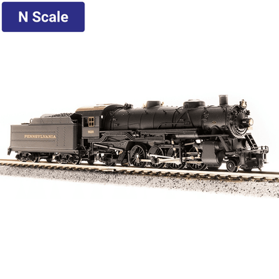 Broadway Limited Imports, N Scale,  5726, USRA Light Mikado, Pennsylvania Railroad, #9629, (DC/DCC & Sound)
