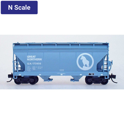 Intermountain, 66531, N Scale, ACF 2-Bay Covered Hopper, Great Northern