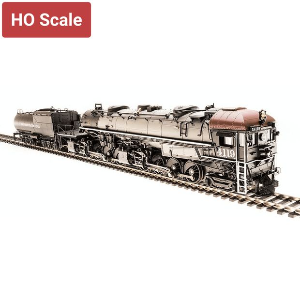 Broadway Limited, 6264, HO Scale, Cab Forward 4-8-8-2 AC-4, Southern Pacific, #4112, (Equipped with Paragon3 Sound/DC/DCC)
