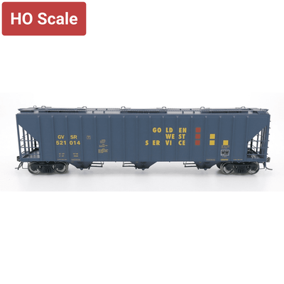 Intermountain HO 472291-02 4785 Covered Hopper, Golden West KCS-Repaint #521004