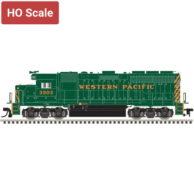 Atlas, 10003222, HO Scale, GP40, Western Pacific, WP Nose Lettering,  #3503, DCC Ready