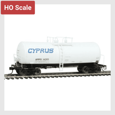 1436598534167 - Walthers Proto 920-100130 40' Utlx 16,000 Gallon Funnel-Flow Tank Car, Cyprus #14203 - Rj's Trains
