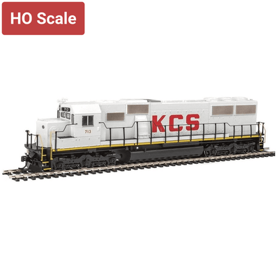 Walthers Mainline, 910-10358, HO Scale, EMD SD50, Kansas City Southern #713