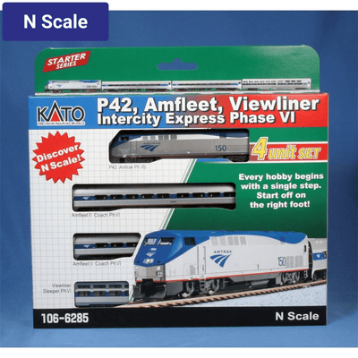 Kato, N Scale, 1066285, Intercity Express (Phase VI), Starter Series
