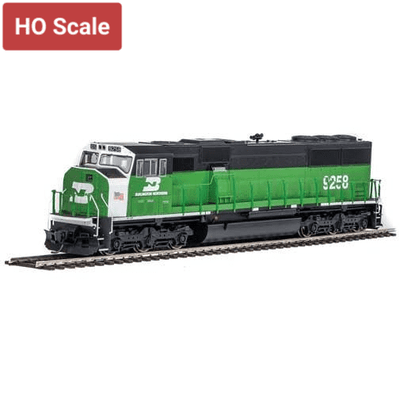Walthers Mainline, 910-19713, HO Scale, EMD SD60M, Burlington Northern, #9258, (DCC & Sound)