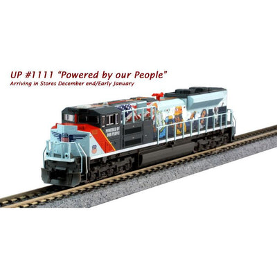 Kato, N Scale, 176-8412, EMD SD70ACe Union Pacific/Powered By the People, #1111, DCC Ready