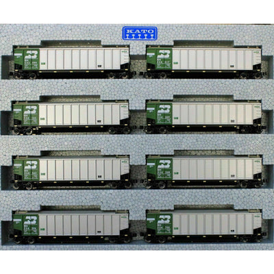 Kato, N Scale, 106-4651, Bethgon Protein Gondola, BN, 8-Car Set #2