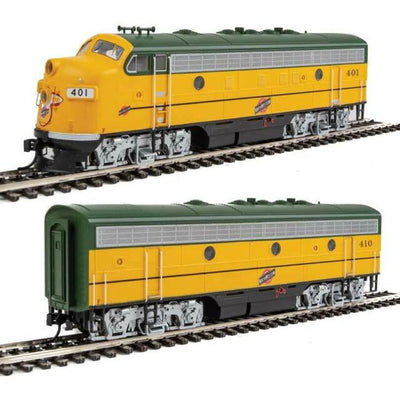 Walthers C&NW Walthers EMD F7 A-b Set (Rental)