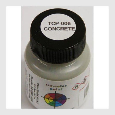 1589262450711 - Tru-Color Paint Tcp-006 Concrete 1Oz - Rj's Trains