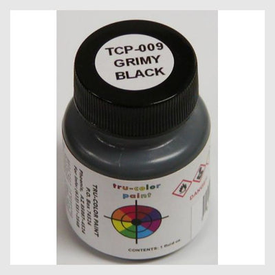 1589516730391 - Tru-Color Paint Tcp-009 Grimmy Black 1Oz - Rj's Trains