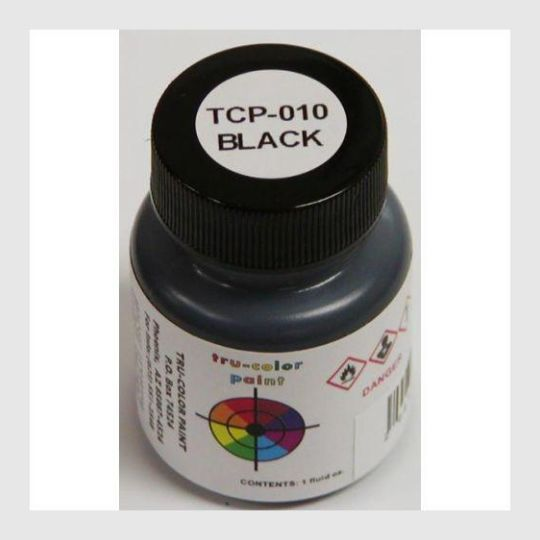 1589481406487 - Tru-Color Paint Tcp-010 Black 1Oz - Rj's Trains