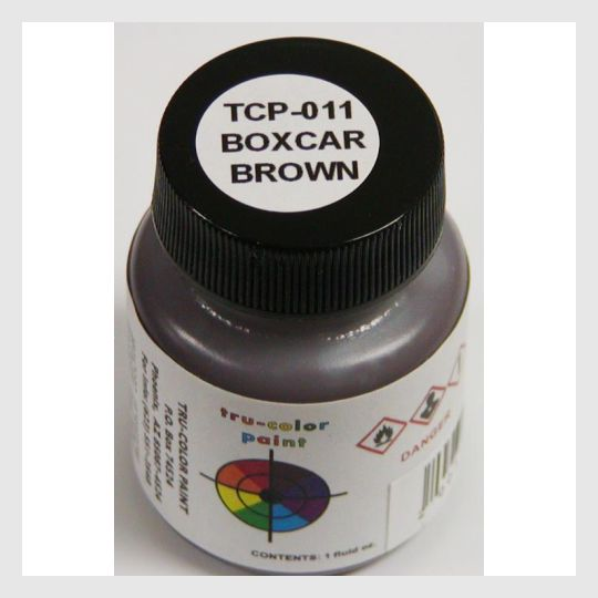 1589482586135 - Tru-Color Paint Tcp-011 Boxcar Brown 1Oz - Rj's Trains