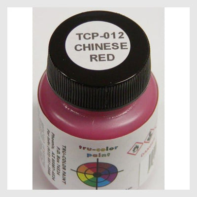 1589488451607 - Tru-Color Paint Tcp-012 Chinese Red 1Oz - Rj's Trains