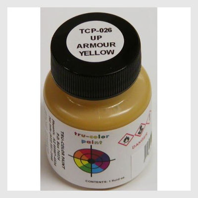 1591394140183 - Tru-Color Paint Tcp-026 Union Pacific Armour Yellow 1Oz - Rj's Trains